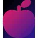 リンゴのアイコン